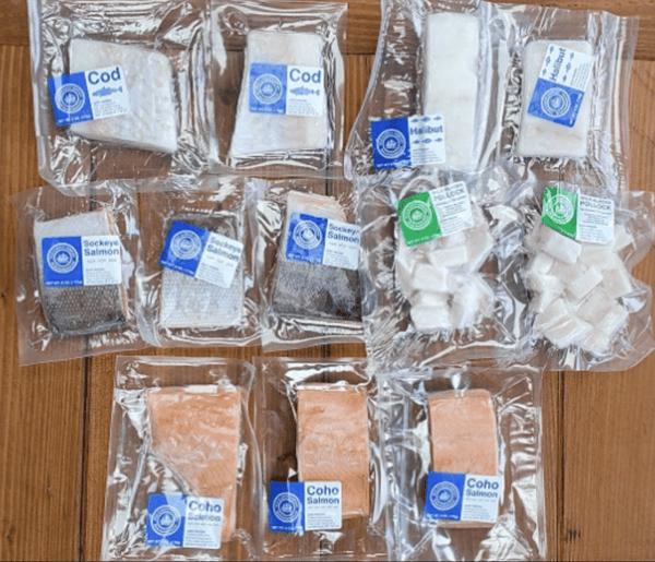 Wild-Caught Sustainable Seafood